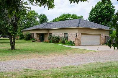 Chickasha Single Family Home For Sale: 2336 County Street 2860