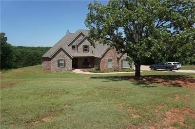 McLoud Single Family Home For Sale: 12 Russell Road
