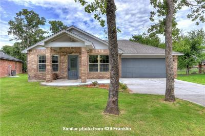 Jones Single Family Home For Sale: 619 Sweetbough