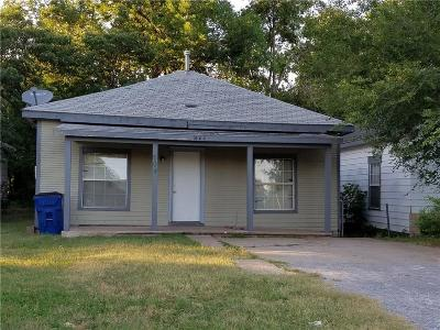 Single Family Home For Sale: 604 W Rogers