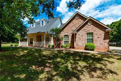 Blanchard OK Single Family Home For Sale: $224,900