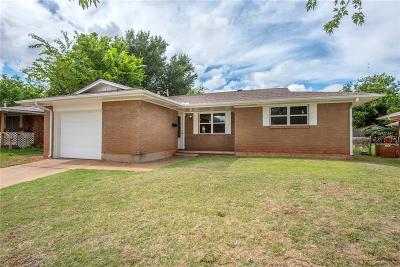 Del City Single Family Home For Sale: 3301 Cheek Place