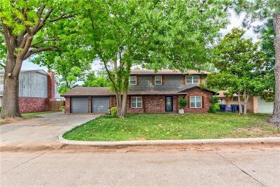 Oklahoma City Single Family Home For Sale: 3200 Tudor Road