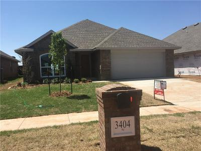 Edmond Single Family Home For Sale: 3404 NW 160th Street