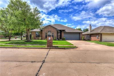 Edmond Single Family Home For Sale: 1612 Yellowstone