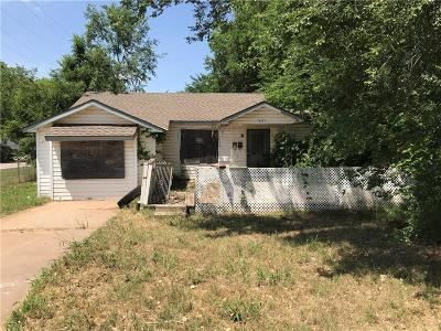 Oklahoma City Single Family Home For Sale: 1601 SE 62nd Street