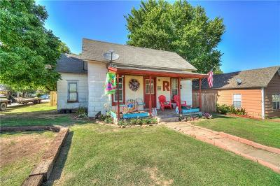 McLoud Single Family Home For Sale: 623 W Broadway Street