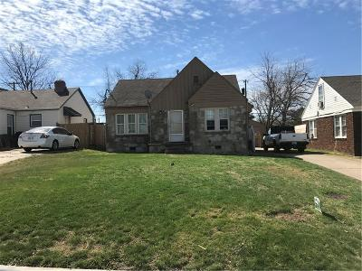 Oklahoma City Single Family Home For Sale: 3728 NW 24th Street