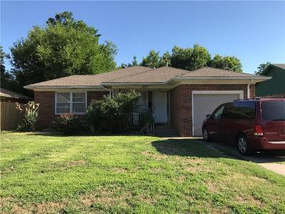 Oklahoma City Single Family Home For Sale: 4228 NW 18th Street