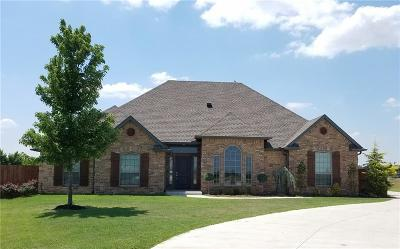 Tuttle Single Family Home For Sale: 1449 Antler Ridge