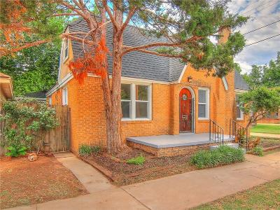 Oklahoma City Single Family Home For Sale: 1709 N Billen