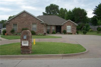 Purcell Single Family Home For Sale: 827 W Washington Street