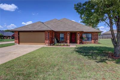 Mustang Single Family Home For Sale: 908 E Magnolia Terrace