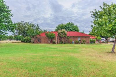 Tuttle Single Family Home For Sale: 103 Wolf Lane