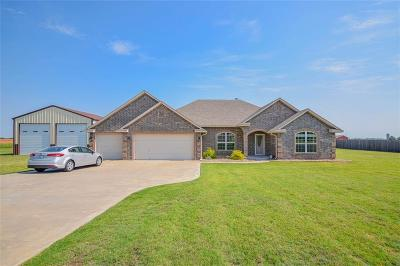 Tuttle Single Family Home For Sale: 1309 Abraham