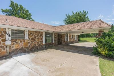 Tuttle Single Family Home For Sale: 106 Marigold Drive