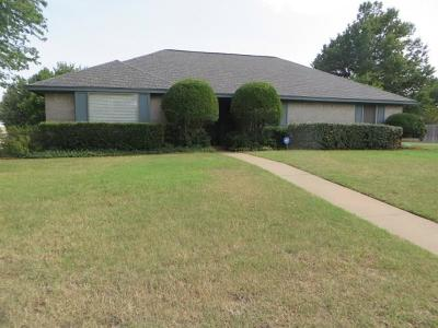 Chickasha OK Single Family Home For Sale: $157,500