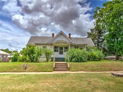 Chickasha OK Single Family Home For Sale: $55,000