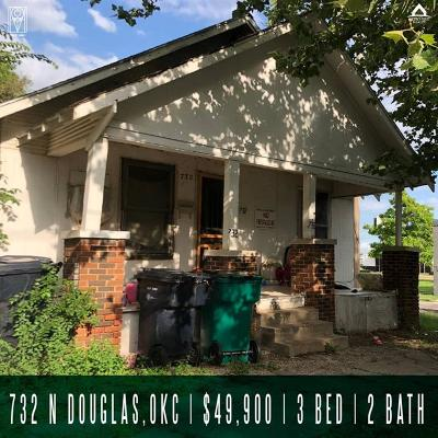 Oklahoma City Single Family Home For Sale: 732 N Douglas Avenue