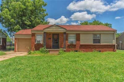 Midwest City Single Family Home For Sale: 307 E Marshall Drive