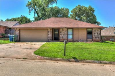 Midwest City Single Family Home For Sale: 1036 Oak Hill Drive