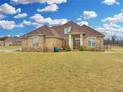 Choctaw Single Family Home For Sale: 7617 Jesse Trail
