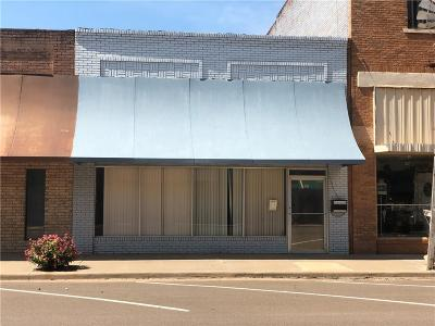 Sayre Commercial For Sale: 107 W Main