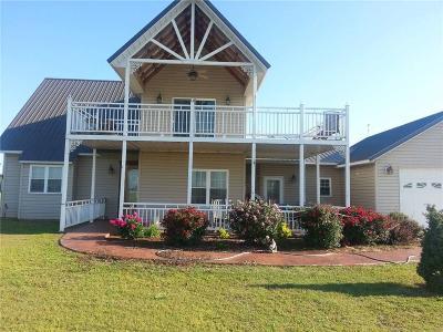 Fort Cobb Single Family Home For Sale: 630 Bella Vista Dr.