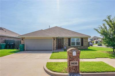 Moore Single Family Home For Sale: 9636 Kylie Drive