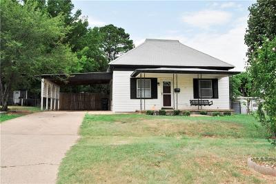 Chickasha OK Single Family Home For Sale: $79,900