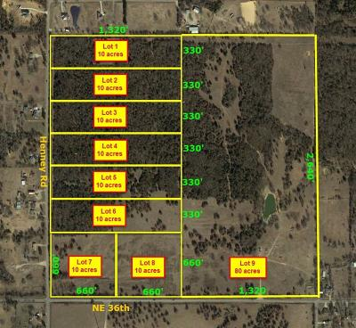 Oklahoma County Residential Lots & Land For Sale: 14301 NE 36th #Lot 9