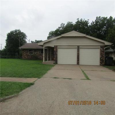 Del City Single Family Home For Sale: 3037 Lazy Lane