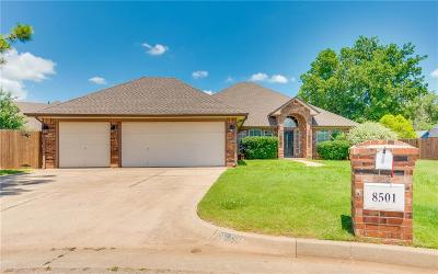 Oklahoma City Single Family Home For Sale: 8501 Willow Creek Boulevard