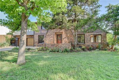 Nichols Hills Single Family Home For Sale: 1201 Huntington Avenue