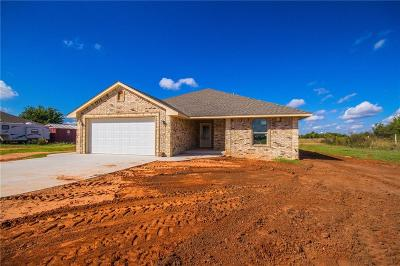 Blanchard OK Single Family Home For Sale: $194,900