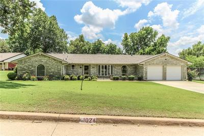 Norman Single Family Home For Sale: 1024 Robinhood Lane