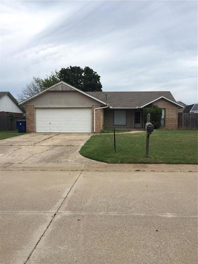 Choctaw Single Family Home For Sale: 1716 Cimarron