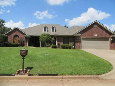 Chickasha OK Single Family Home For Sale: $259,900