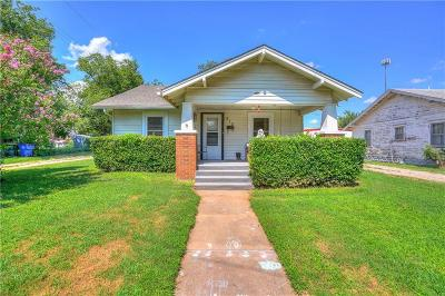 Chickasha OK Single Family Home For Sale: $65,000
