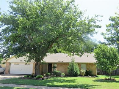 Altus Single Family Home For Sale: 2600 Cherokee Strip