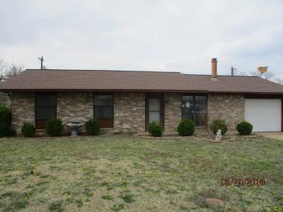 Cushing Single Family Home For Sale: 802 Parkview Divide