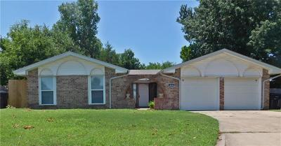 Oklahoma City Single Family Home For Sale: 8616 NW 92nd Street