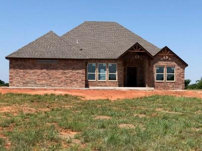 Blanchard OK Single Family Home Sold: $192,000