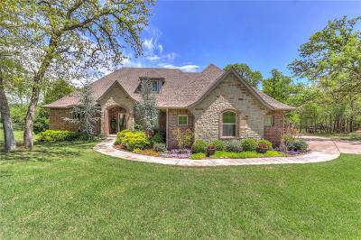 Edmond Single Family Home For Sale: 6810 Stone Hill