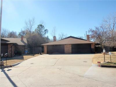 Oklahoma County Attached For Sale: 7130 Michelle Ln