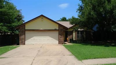 Edmond Single Family Home For Sale: 433 W 8th