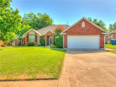 Edmond Single Family Home For Sale: 804 Charlton Road