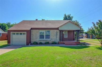 Chickasha OK Single Family Home For Sale: $89,500