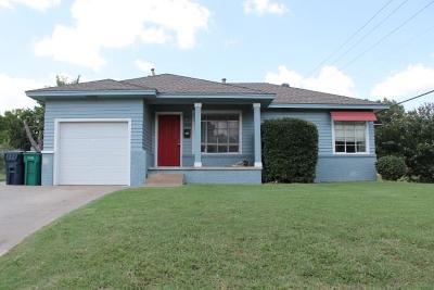 Oklahoma City Single Family Home For Sale: 1201 84th