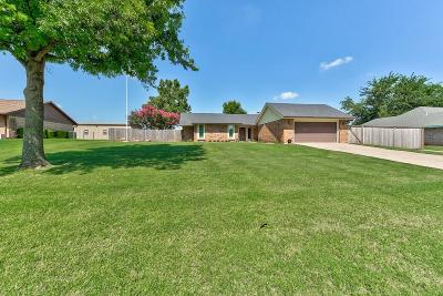 Mustang Single Family Home For Sale: 1509 S Nelms